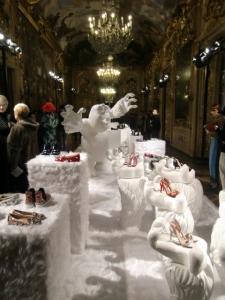 CHIARA FERRAGNI  presentazione Palazzo Clerici Sala Tiepolo