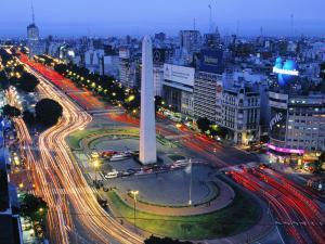 obelisco Avenue 9 luglio Buenos Aires