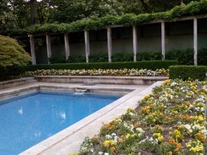 Giardino interno Villa Necchi Campiglio