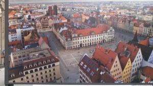 Breslavia piazza mercato