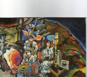 La ricerca scientifica, mosaico su disegno di Renato Gottuso, 1961
