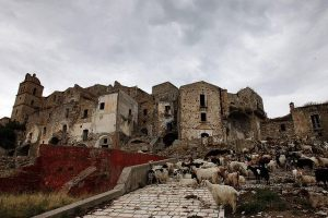 Ghost village Craco