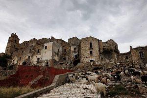 Ghost village Craco