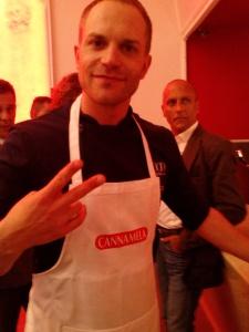 Simone Rugiadi chef-showman