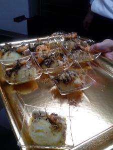 tortino al formaggio con una spolverata di...tartufo!