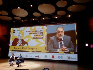 F.F.Coppola Ritrovare le radici per incontrare il futuro Milano, Teatro Dal Verme 26 ottobre 2015
