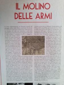 Molino delle Armi (1330) Fabbrica di armi esportate in tutta Europa
