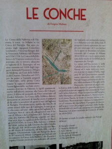 Le conche di Viarenna in via Conca del Naviglio (1556-1558)