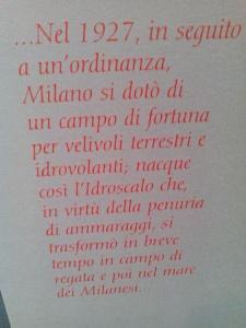 Nasce l Idroscalo (1927)
