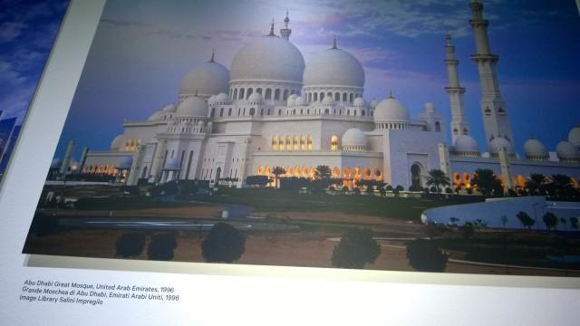 Grande Moschea di Abu Dhabi Emirati Arabi, 1996