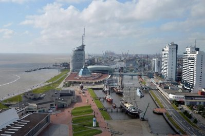 bremerhaven-niemcy-panorama-z